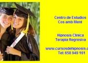 CURSO DE HIPNOSIS -ESCUELA DE HIPNOSIS -Hipnosis,Regresiones.