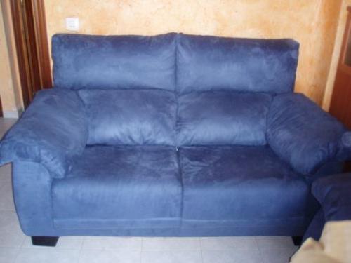 Fotos de vendo sofas de 2 y 3 plazas azules madrid muebles for Vendo sofa cama 2 plazas