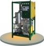 instalación móvil ceolítica de aceite