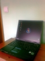 CHOLLO PORTATIL PENTIUM 4 1.8G + 512 RAM+ BATERIA +GRABADORA DVDS + LICENCIA WINDOWS XP