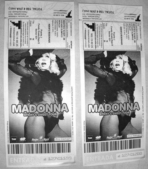 Madonna entradas club reservadas sevilla