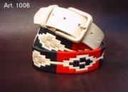 Cinturones de piel artesanales, envios a todo el pais