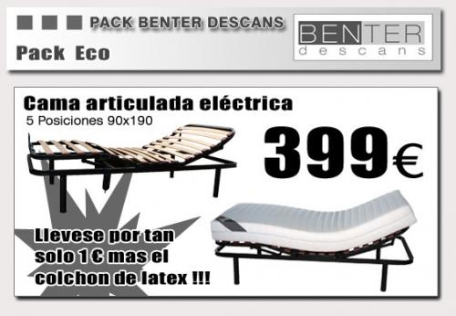 Fotos de 400 cama electrica colchon de latex a precios locos barcelona muebles - Colchon de latex precios ...
