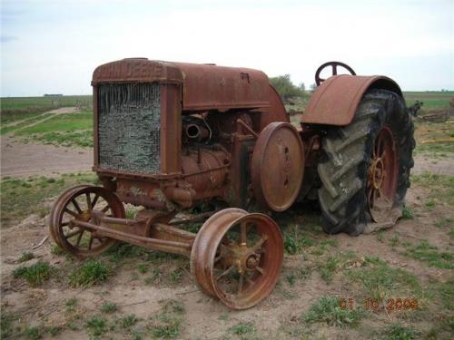 Fotos de vendo tractor john deere modelo 1527 a o 1927 for Tractores en almeria