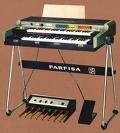 Organo farfisa vip 500,años 70