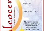 Venta temario Master PRL, CALIDAD Y MEDIOAMBIENTE