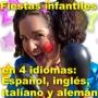 PAYASOS EN FIESTAS DE CUMPLEAÑOS EN MADRID