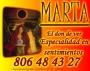 Videncia de marta;el don de ver,especialidad en sentimientos 806484327