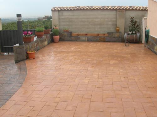 Fotos de pavimento de hormigon impreso madrid oficios - Hormigon impreso en madrid ...