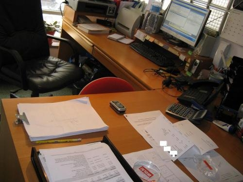 Vendo 2 mesas oficina (barcelona -eixample) en Barcelona - Muebles ...