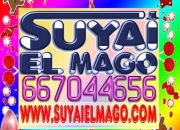 ORIGINAL SHOW DE MAGIA CON EL MAGO SUYAI PARA FIESTAS INFANTILES