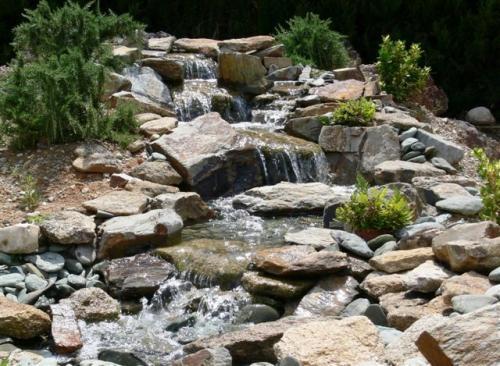Fotos de jardiner a construcci n y mantenimiento for Biopiscinas construccion