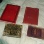 lote de 4 libros de finales 1800 aprincipios 1900