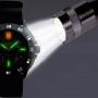 Reloj UZI tritio y linterna mimi maglite 90€