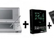 Nintendo DS Lite Blanca Polar + R4 V3 DS Revolution + Tarjeta