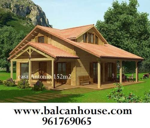 Fotos de casas de madera balcan house galicia for Precios cabanas de madera baratas