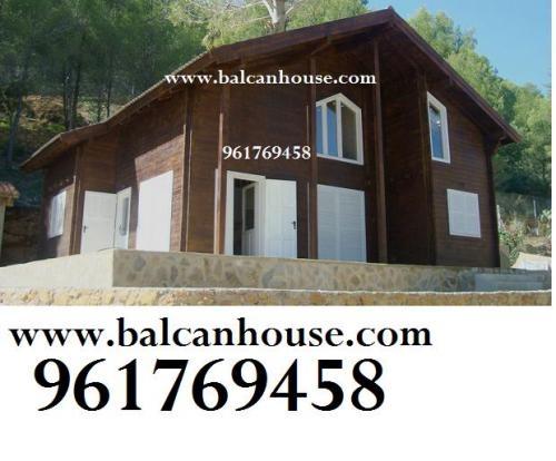 Fotos de casas de madera balcan house galicia for Casas de madera valencia