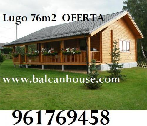 Casas prefabricadas madera fabrica de casas de madera en - Casa de madera galicia ...