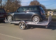 REMOLQUE PORTACOCHES,THALMAN VPE 3816.MINI,SMART.JEEP.WILLY,TODOTERRENOS.4X4,SIN CARNET,CLASICO,AUTOCROSS,BUGGY,
