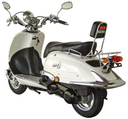 fotos de scooter retro 125 sumco luna 2 a os garantia nuevas barcelona venta de autos motos. Black Bedroom Furniture Sets. Home Design Ideas