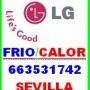 LG SEVILLA 663531742 AIRE ACONDICIONADO REPARACIONES MISMO DIA SEVILLA