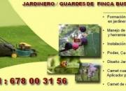 GUARDES/JARDINERO BUSCA TRABAJO