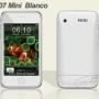 Mini hiphone blanco, dual sim simultã¡neas, cã¡mara 2.0mp, mp3, mp4