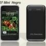 Mini hiphone negro, dual sim simultã¡neas, cã¡mara 2.0mp, pantalla tã¡ctil