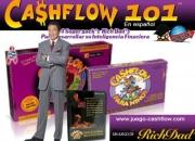 juego de mesa cashflow 101 y 202 en español + 11 cds