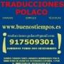Traducciones polaco; traductor jurado polaco español