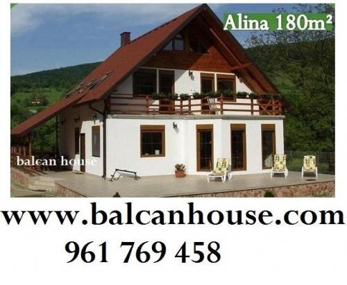 Fotos de casas de madera casas de madera prefabricadas - Casas de madera valencia ...