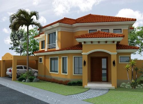 Rarh construcciones c a for Modelos de casas fachadas fotos