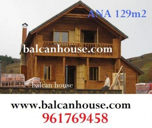 Casas prefabricadas madera cabanas de madera en madrid - Casas prefabricadas oferta ...