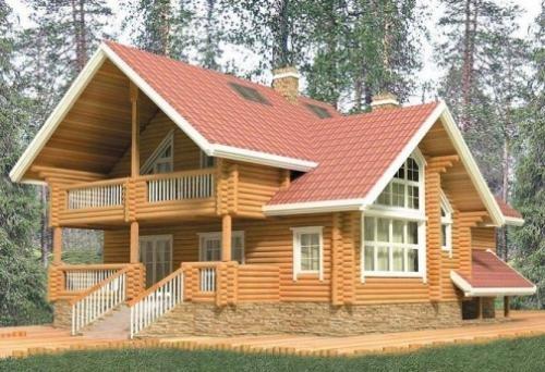 Fotos de casas de madera natural maciza - Casas de madera natural ...