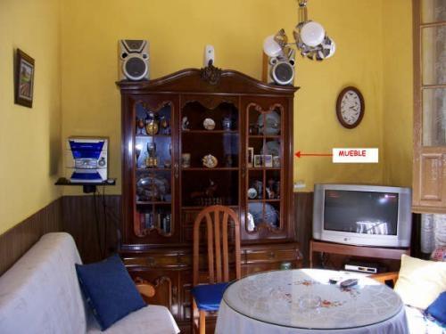 Mueble Salon Pino Macizo Muebles Electrodomésticos Arganda Del