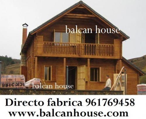 Fotos de casas de madera directo fabrica ofertas for Casas de madera ofertas