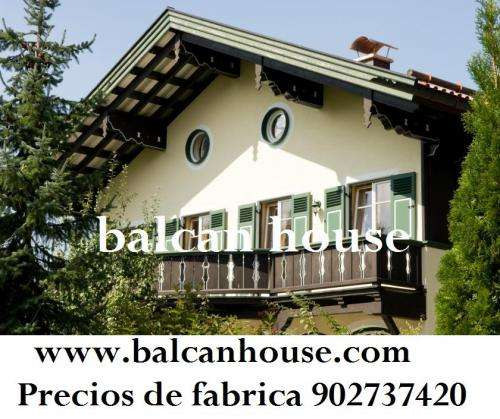 Casas de madera ofertas, precios anticrisis