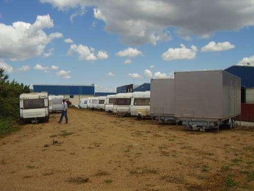 Parking caravana