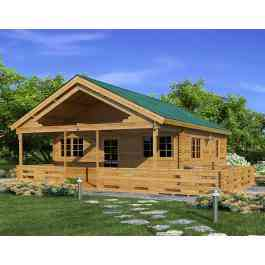 Casas prefabricadas madera cabanas madera madrid - Cabanas cerca de madrid ...