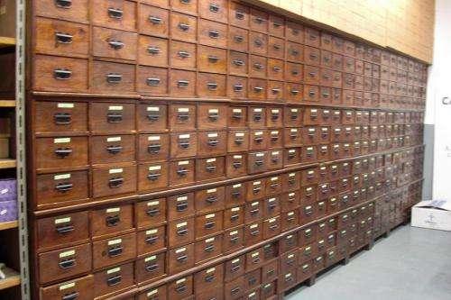 Fotos de Muebles cajoneros archivadores antiguos en ...