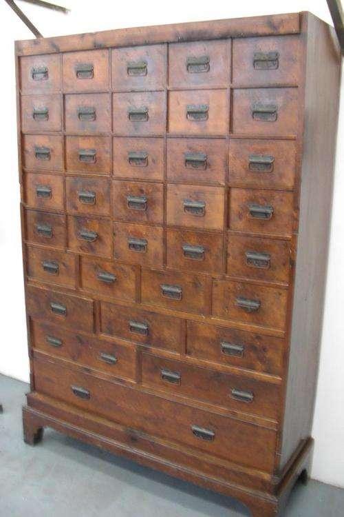 Muebles cajoneros archivadores antiguos en Barcelona - Muebles  154201