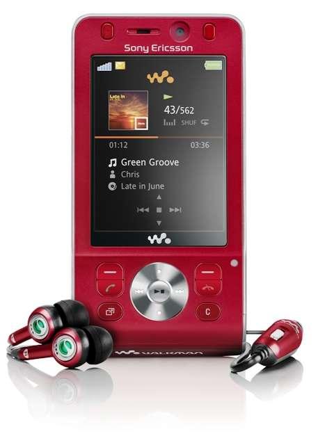 Sony ericsson w910i rojo, bateria nueva y complementos