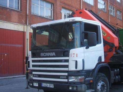 Camion scania 6x4 grua - palfinger pk. 36000. 2
