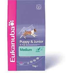 Para tu cachorro eukanuba puppy & junior razas medianas