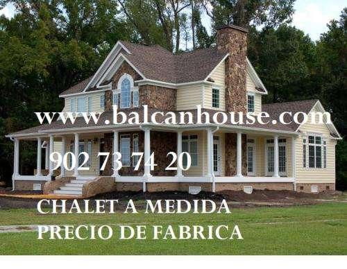 Fotos de casas de madera casas prefabricadas casas - Casas americanas en espana ...