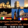 INTERCAMBIO INGLES, FRANCES, ITALIANO, PORTUGUES, ESPAÑOL, ..... GRATIS