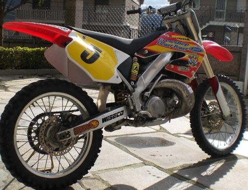 Honda cr250 2t 2001' cross