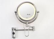OFERTA ESPECIAL Espejo de Aumento con LUZ cromo