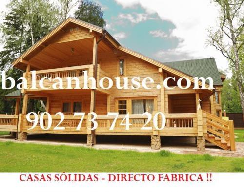 Casa de madera en galicia dise os arquitect nicos for Casas de madera ofertas