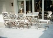 www.epiplokipou.gr mobiliario de jardín himno a la belleza de los colores antiguos